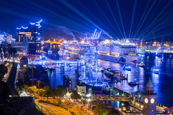 Hamburgā norisināsies grandiozs kruīza festivāls (