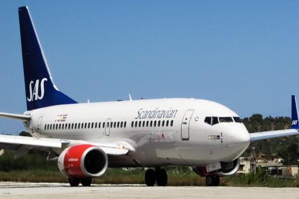 Lidsabiedrība «SAS Scandinavian Airlines» atklāj j