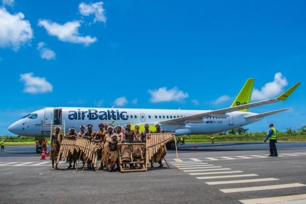 airBaltic veic iespaidīgu Airbus A220 turneju pa K