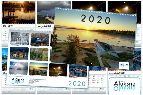 Alūksnes skaistākās vietas iemūžinātas 2020. gada
