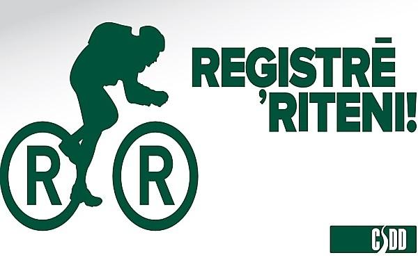 Reģistrē riteni Eiropas Mobilitātes nedēļas ietvar