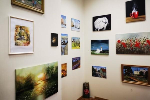 Galerijā «Žagata» skatāma Ventspils amatiermākslin