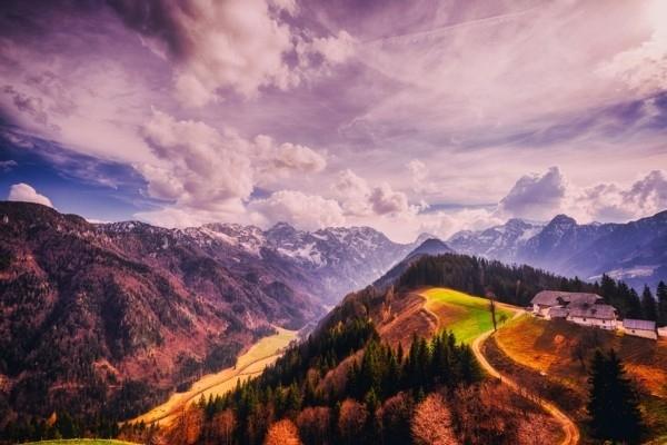 Slovēnijā var baudīt velo maršrutu, kas cauri kaln