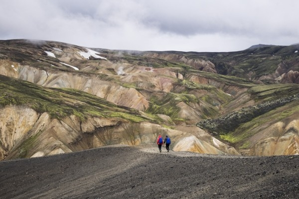 Islandē iespējams apskatīt vulkānu no iekšpuses (v