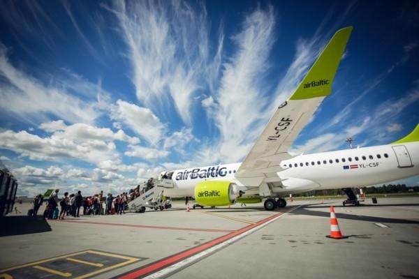 airBaltic izziņo speciālus rei