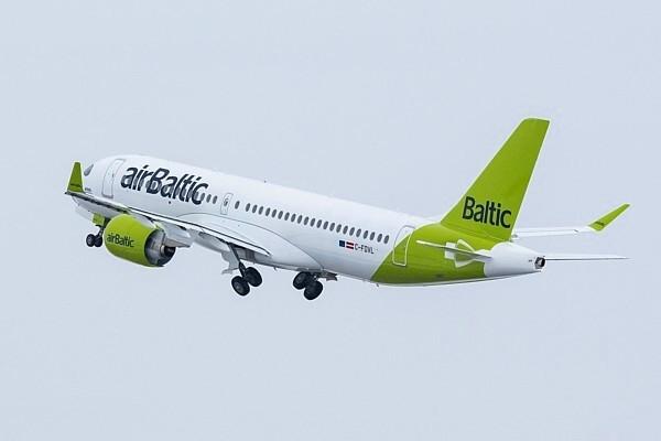«airBaltic» pievieno papildu r