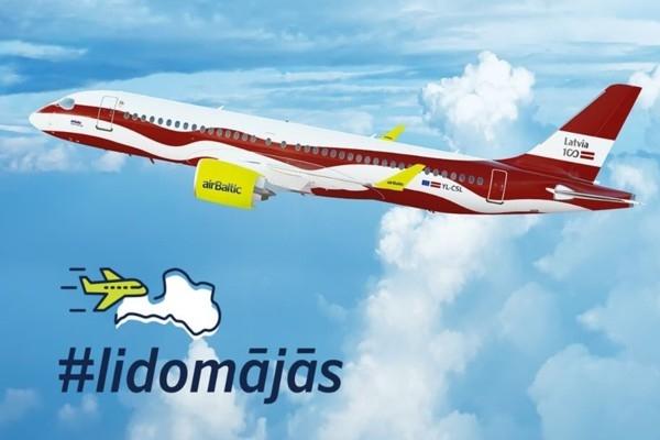 airBaltic ar reisiem no Londonas un Maltas uz Rīgu