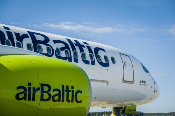 «airBaltic» ievieš pagaidu lidojuma galamērķa maiņ
