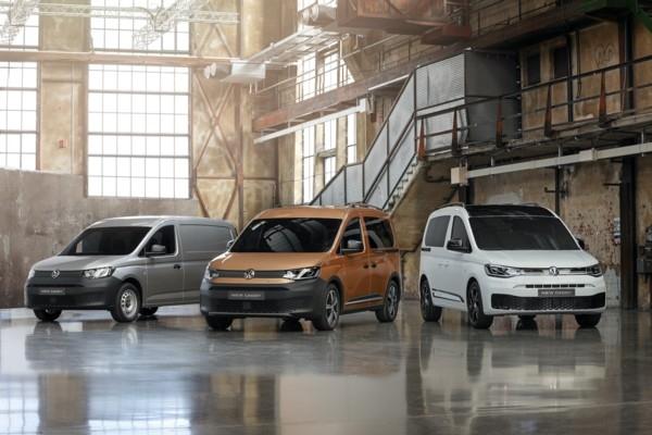 Jaunais «Volkswagen Caddy 5» p