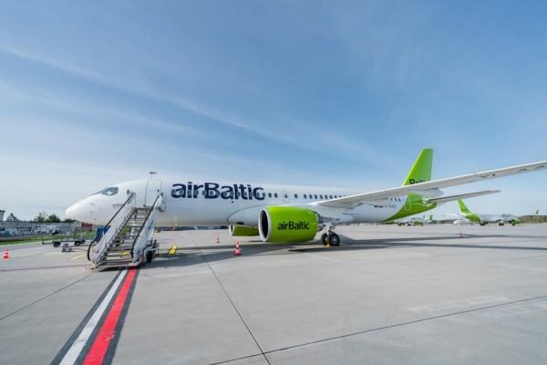 «airBaltic» saņem 26. Airbus A220-300 lidmašīnu