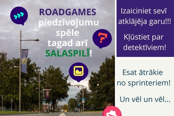 Populārā piedzīvojumu spēle «Roadgames» tagad arī