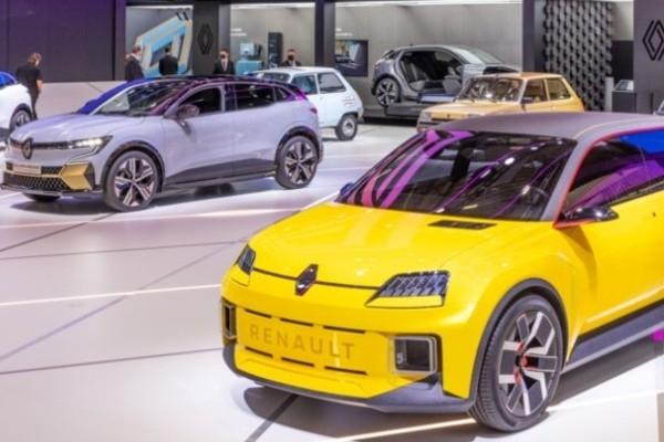 «Renault 5 Prototype» Minhenē satiek priekštečus