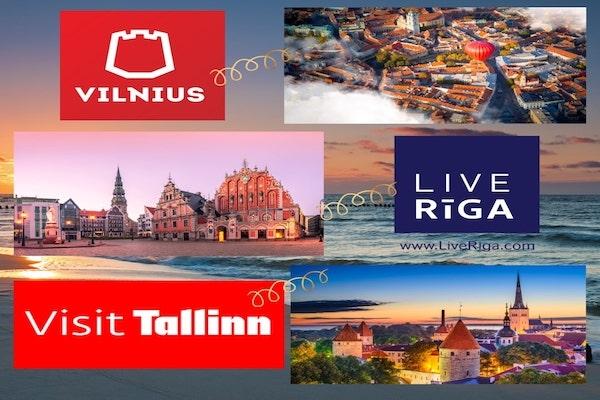 Kuras ir desmit lielākās Baltijas valstu pilsētas