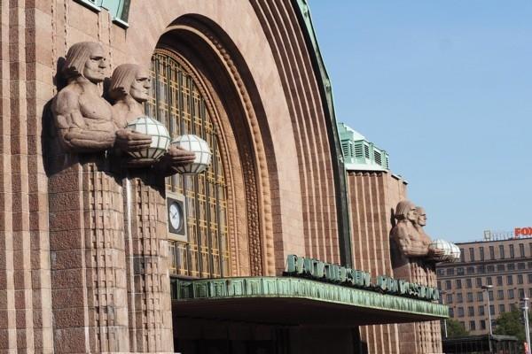 Helsinku centrālajā dzelzceļa stacijā tiek atvērta