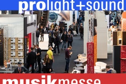 Prolight + Sound - Frankfurt 31.03-3.04.20